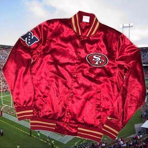 San Francisco 49ers Satin Jacket